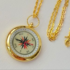 Watch Pendant Necklace